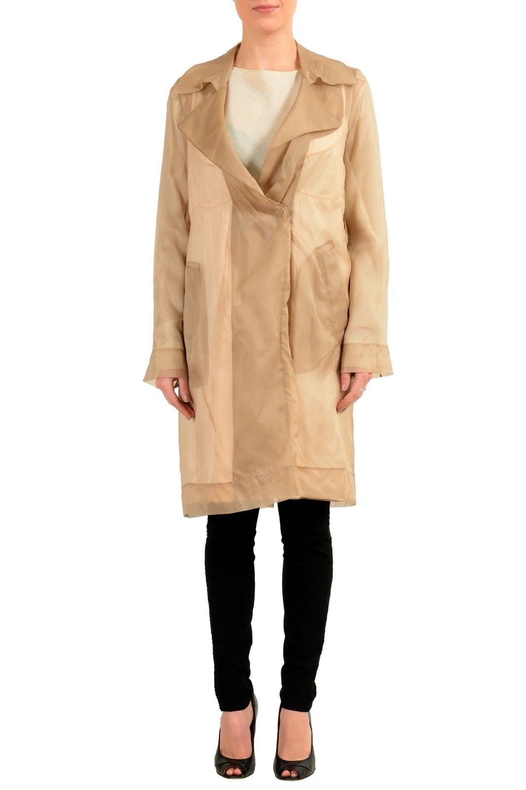 124ec7bf5 Maison Margiela 1 100% Silk Multi-Color Women's Trench Coat