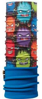 【【蘋果戶外】】BF108158西班牙BUFF魔術頭巾細菌大軍兒童保暖頭巾Polartec保暖纖維脖圍