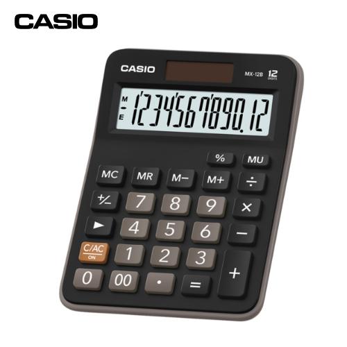 CASIOMX-12B小型計算機(12位數)