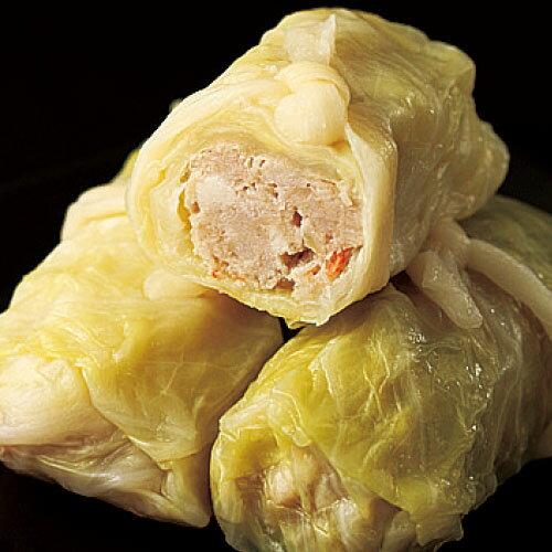 茶美豬高麗菜捲 1