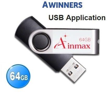 Ainmax 64GB  USB2.0 高速隨身碟