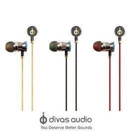 [NOVA成功3C] Divas audio DV-2013 金屬質感全銅腔體入耳式耳機 喔!看呢來