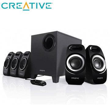 [nova成功3C] CREATIVE Inspire T6300 5.1聲道喇叭