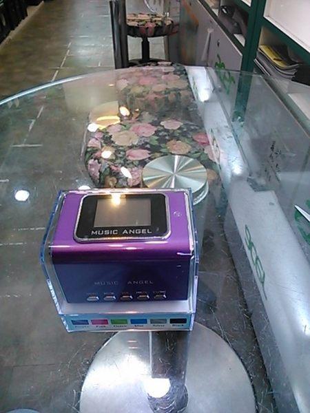 {光華新天地創意電子}音樂天使MD-05X 紫色,含繁體中文字幕,支援MICRO SD卡 / USB隨身碟 喔!看呢來