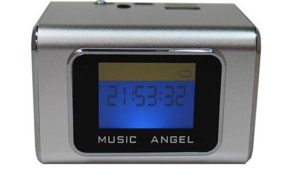 {光華新天地創意電子}音樂天使MD-05X 銀色, 含繁體中文字幕, 支援MICRO SD卡 / USB隨身碟 喔!看呢來