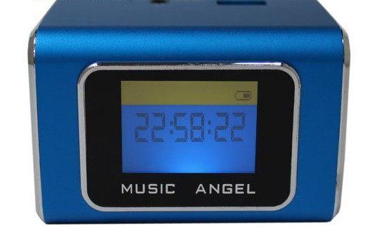 {光華新天地創意電子}音樂天使MD-05X 藍色 含繁體中文字幕 支援MICRO SD卡 / USB隨身碟 喔!看呢來