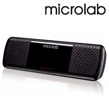 [NOVA成功3C]【Microlab】MD-200(黑) USB 2.0聲道可攜式多媒體音箱  喔!看呢來