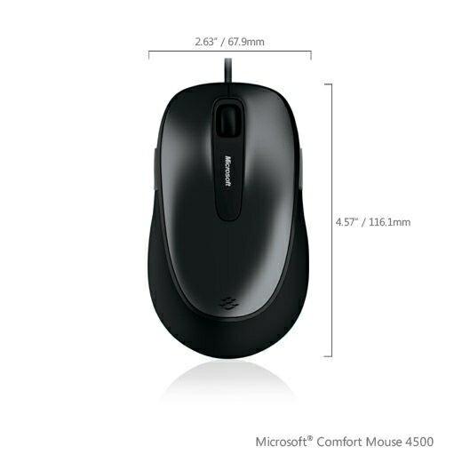 NOVA成功3C 微軟 Microsoft mouse 舒適滑鼠 4500 USB2.0