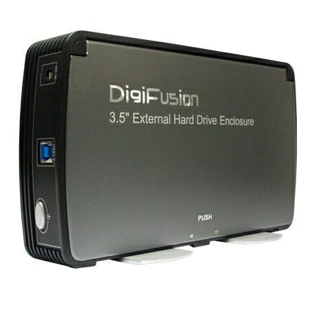 "[NOVA成功3C]伽利略 DigiFusion 35C-U3 USB3.0 (2.5""/3.5""HD共用) 3.5吋SATA硬碟外接盒  喔!看呢來"
