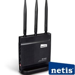 [NOVA成功3C]netis WF2409 黑極光三天線無線寬頻分享器 喔!看呢來