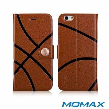 [NOVA成功3C]Momax 摩米士 iPhone 6 運動系列保護皮套(籃球款).