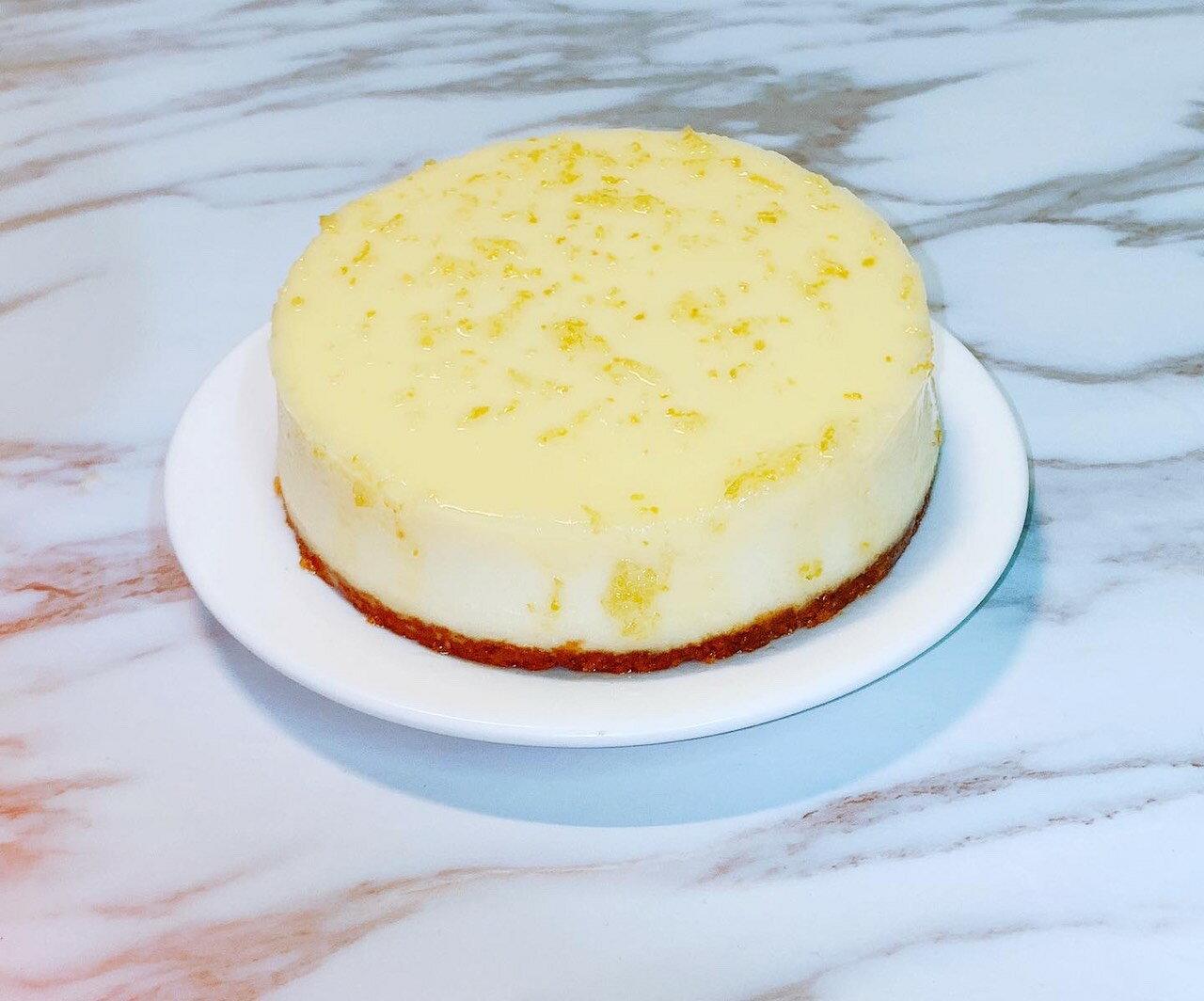 檸檬糖霜重乳酪蛋糕 6吋 生日蛋糕 情人節蛋糕 重乳酪蛋糕 蛋糕 《給朕過來》