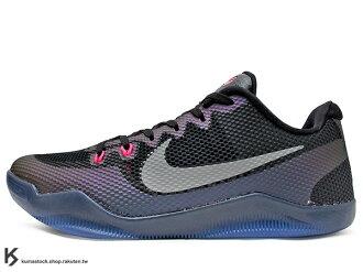 [28cm] 2016 NBA 湖人球星 小飛俠 最新代言鞋款 ENGINEERED MESH 鞋面科技 搭載 NIKE KOBE XI 11 EP EM LOW INVISIBILITY CLOAK..