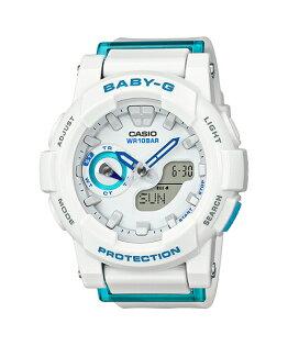 CASIOBABY-GBGA-185FS-7A運動服靈感流行腕錶白色44mm