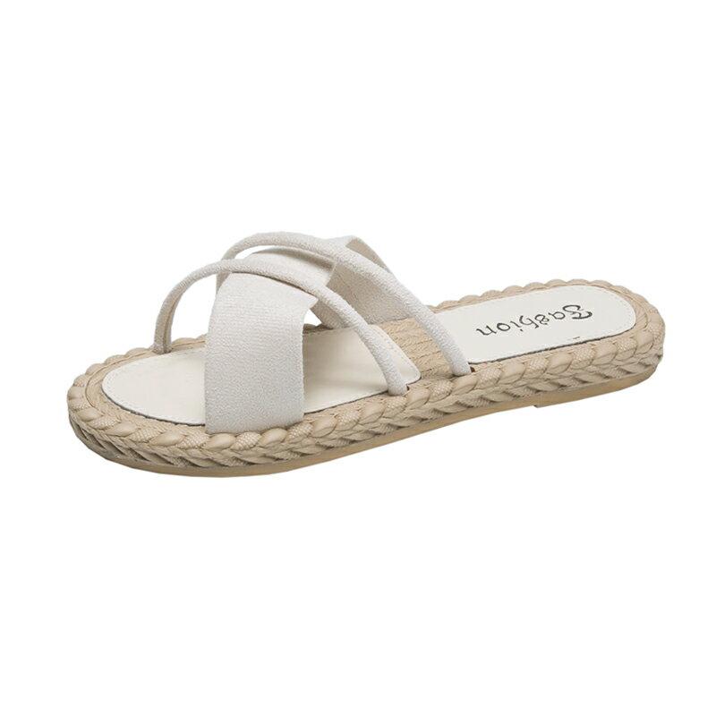 防滑夏天涼鞋可濕水涼拖鞋女外穿時尚2020夏季新款ins潮外出百搭