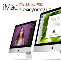 Apple 蘋果商品推薦Apple 蘋果   iMac MK472TA/A Rtina 5K 27吋AIO桌機 Retina 5K /i5-3.2/2x4GB/1TB FD/M390-2G/Retina 5k
