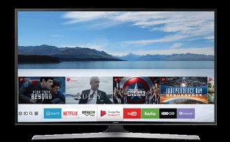 升汶家电批发:SAMSUNG三星 43吋 LED 4K电视 UA43MU6100