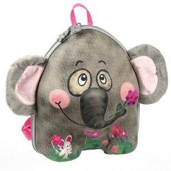 德國okiedog 兒童3D動物造型後背包-大象