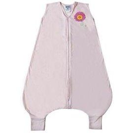 美國 HALO 防踢睡袍-粉色小花薄款【美國第一大嬰童睡袍品牌】【紫貝殼】