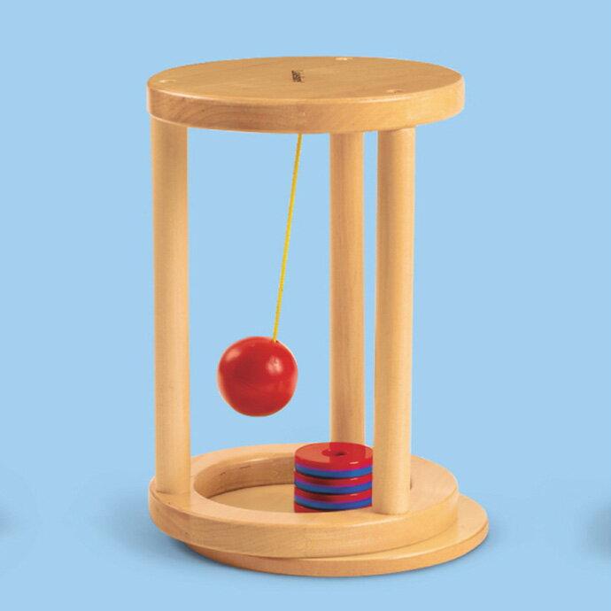 【华森葳儿童教玩具】科学教具系列-磁力体验架-推拉 N8-LL764
