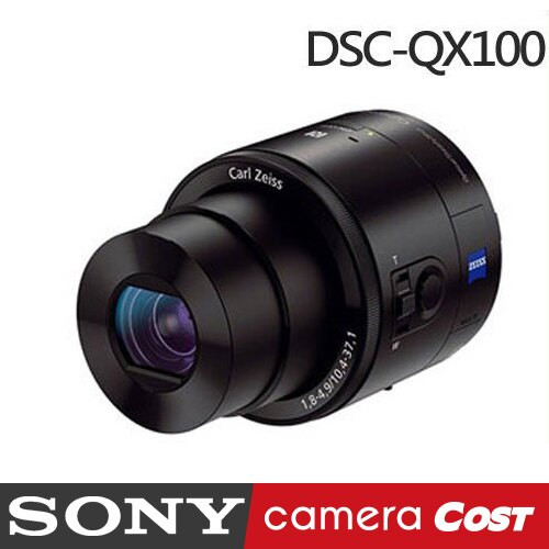 【32G原電充大全配】 SONY DSC-QX100 外接式鏡頭相機 公司貨 QX100 - 限時優惠好康折扣