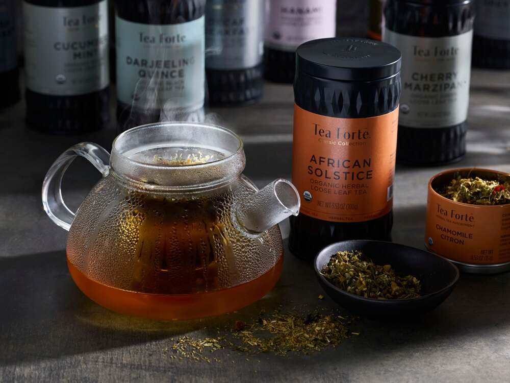 Tea Forte 罐裝茶系列 - 南非紅葉茶 African Solstice 1