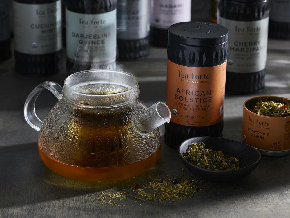 Tea Forte 罐裝茶系列 - 柑橘茉莉綠茶 Orange Jasmine 1