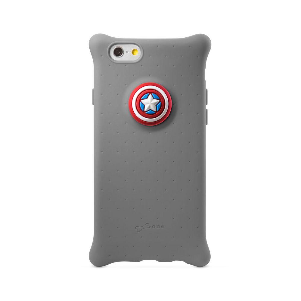 Bone|Apple iPhone 6 / 6S 四角防撞 泡泡保護套 手機殼 - 美國隊長 Marvel 漫威