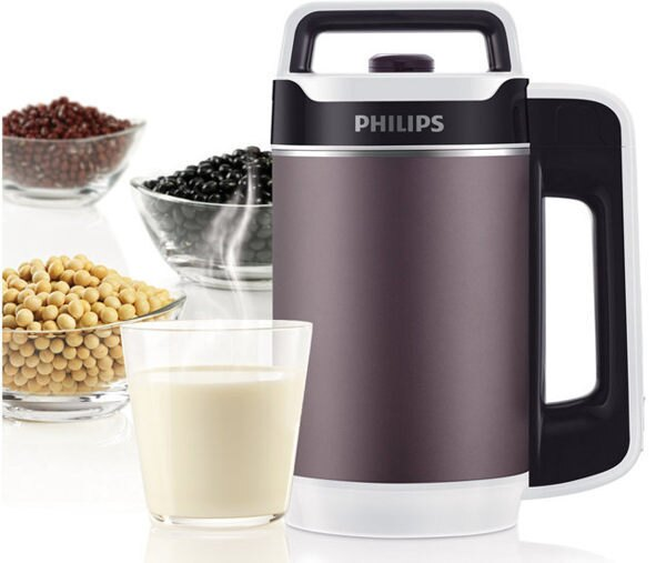 吉盛聯合:免運費+有機黃豆PHILIPS飛利浦全營養免濾豆漿濃湯機豆漿機養生豆漿機九陽豆漿機HD2079