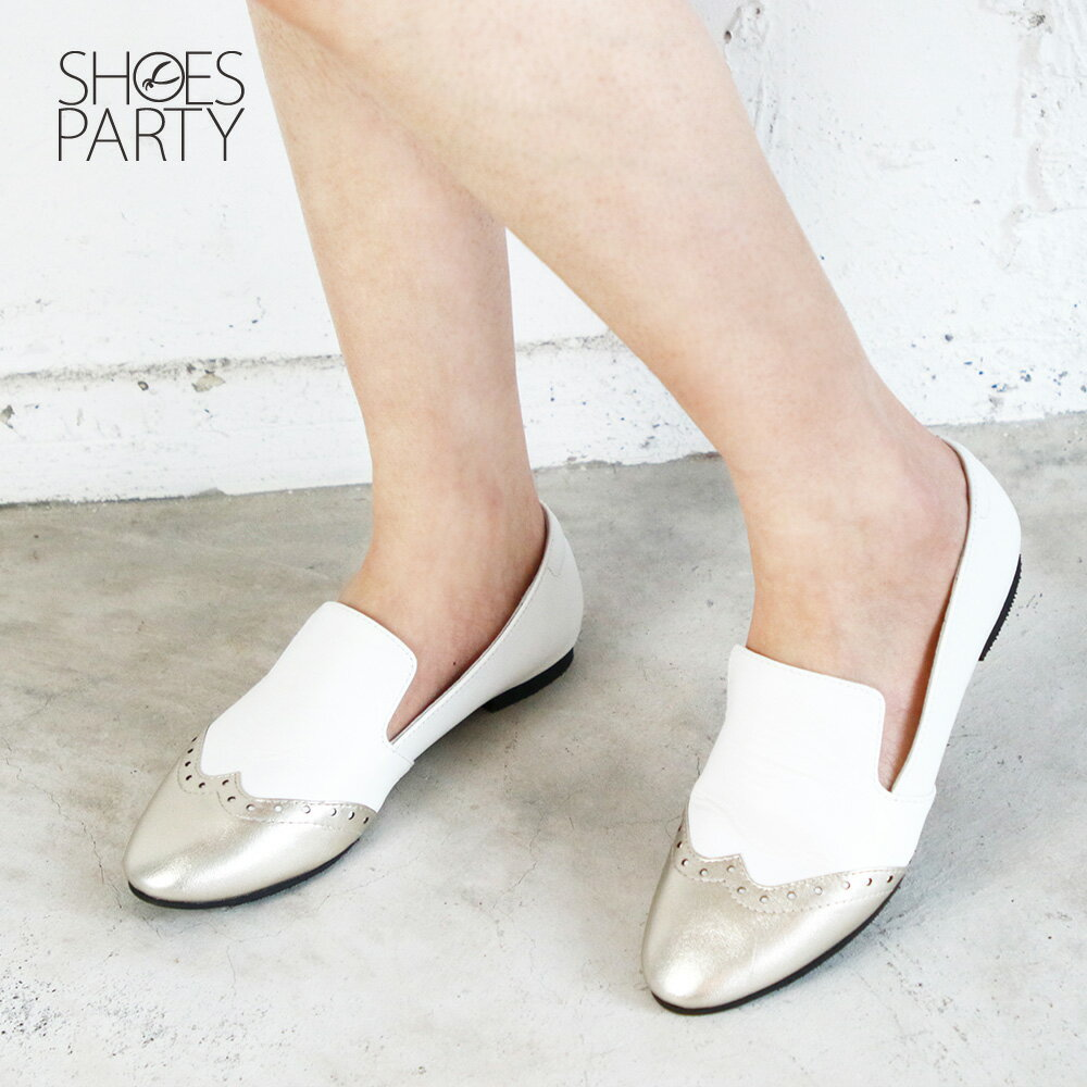 【C2-19308L】真皮牛津歐貝拉_Shoes Party 2
