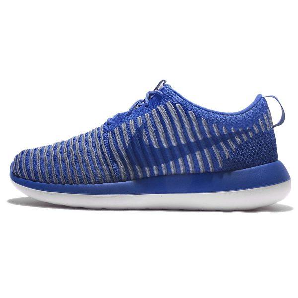 <br/><br/>  Nike Roshe Two Flyknit 男鞋 慢跑鞋 藍 灰 白 2代 編織 【運動世界】 844833-401【12/1-31 單筆滿2000結帳輸入序號 XmasGift-outdoor 再折↘250 | 單筆滿1000結帳輸入序號 XmasGift-100 再折↘100】<br/><br/>