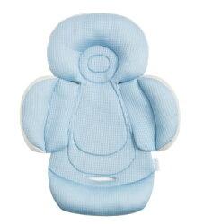 【淘氣寶寶】air cossi 超透氣抗菌天絲坐墊_嬰兒推車枕頭 (新生兒全身包覆款0-4m)【首創頂級天絲 50%up吸濕排汗 】