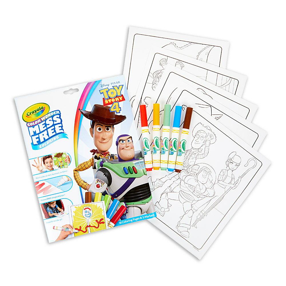 Crayola 神彩著色套裝 - 玩具總動員4(紙盒) 1