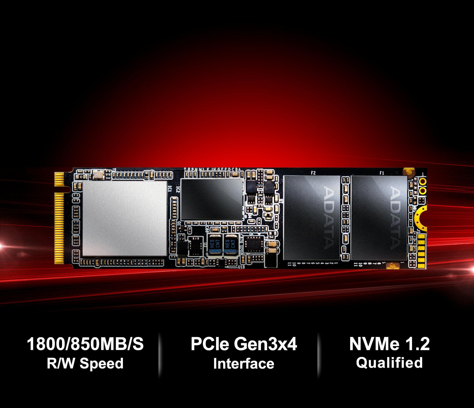 XPG SX7000 PCIe NVME Gen3x4 M.2 512GB SSD (ASX7000NP-512GT-C) 3