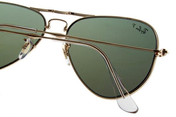 Ray Ban 雷朋 金邊綠鏡 折疊太陽眼鏡 RB3479 5