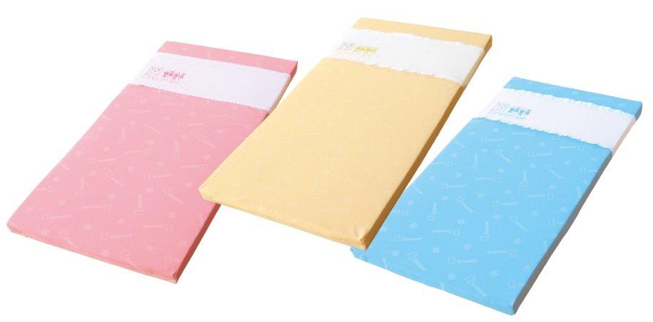 Mam Bab夢貝比 - 好夢熊乳膠日規大床墊 -單布套 (粉、黃、藍) 3