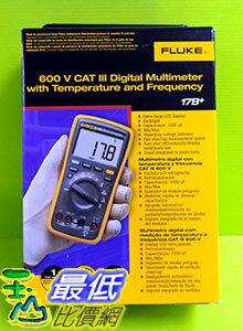 貨  美國福祿克 FLUKE F17B   EM  萬用表 三用電表 維修 測試 研究