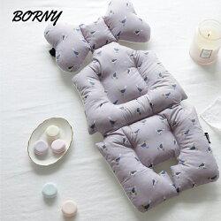 韓國【Borny】全身包覆墊(推車、汽座、搖椅適用)(紫文雀)