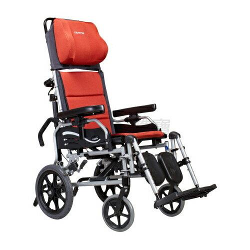 康揚 鋁合金手動輪椅 仰躺型 水平椅 躺式輪椅 501 好禮三選一