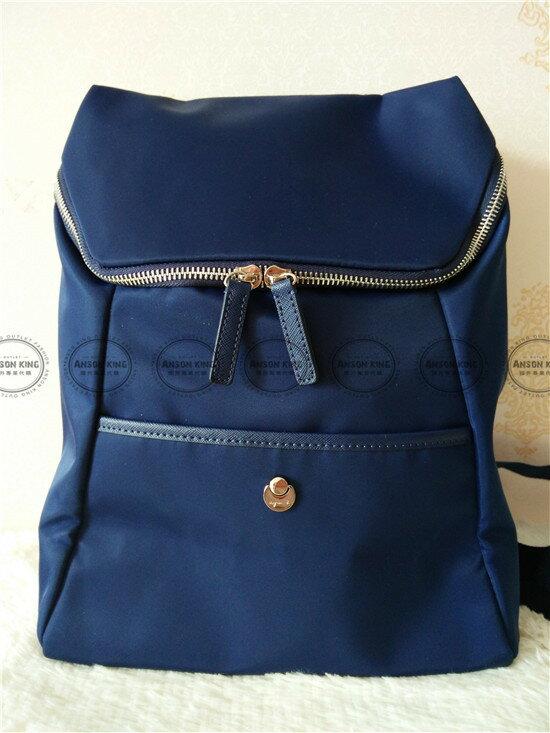 Outlet代購 agnes.b 新款簡約後背包 小b (藍色) 四色 書包 通勤包 雙肩包 斜挎包 防水 2