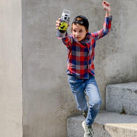 瑞士 SIGG 兒童系列寬口鋁瓶 0.6L 藍色 水壺 1