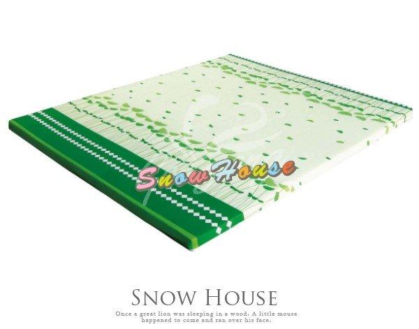 ╭☆雪之屋居家生活館☆╯P409-023*6尺藺草雙效床記憶床墊床墊三折式好收藏不佔空間