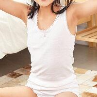 原裝進口-兒童100%純棉女童背心