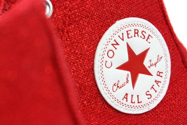 CONVERSE Chuck Taylor All Star Material 帆布鞋 紅 女款 549646C no193 2