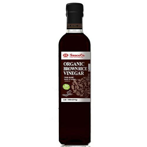 味榮 有機糙米醋 500ml/瓶