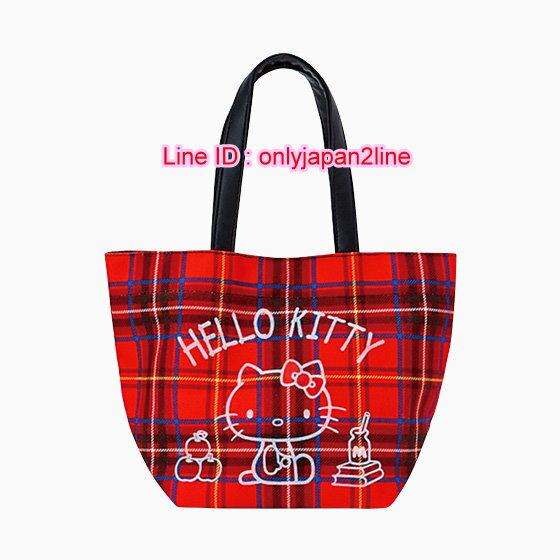 ~真愛 ~ED 英格蘭紅~KT手提袋M 三麗鷗 Hello Kitty 凱蒂貓 手提包
