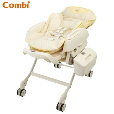 Combi 電動餐搖椅 (型號Letto DX / 香檳格 )
