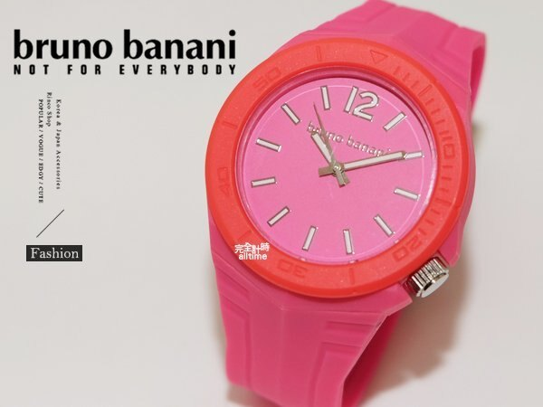 【完全計時】手錶館│德國時尚原裝bruno banani 矽膠錶帶 火焰紅 飾品 BR21056大錶徑 運動方型