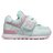 Shoestw【IV574KCS】NEW BALANCE NB574 運動鞋 黏帶 小童鞋 Wide 淺綠粉 小花 0