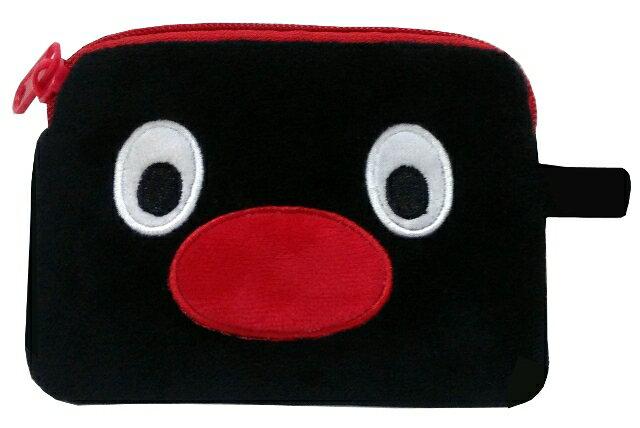 Pingu絨毛長型零錢包